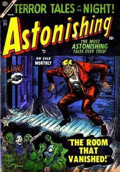 Cover for Astonishing (Marvel, 1951 series) #31