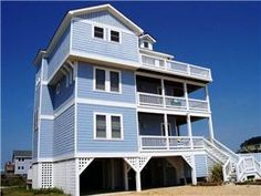 Quality-built, 5 bedroom, 5.5 bath oceanfront vacation home with 4 levels of breathtaking surf views! Designed with spectacular vacations in mind, ...