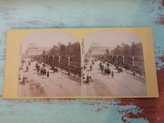 Antique stereo photo/stereoview France/Paris/Rue de Rivoli horses/chariots 1800s Paris Rue, Paris France, Antique Photos, Vintage Photos, Vitiligo Skin, Rivoli, Chariots, Mount Washington, Horses