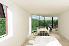 Huis PK, Sint-Amandsberg, Noest architectuur, Renée Steyaert