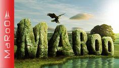 3D Rock text effect - Photoshop