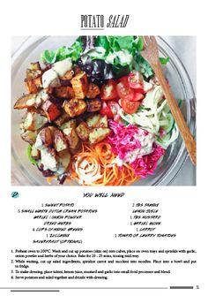 """Healthy version of """"potato"""" salad"""