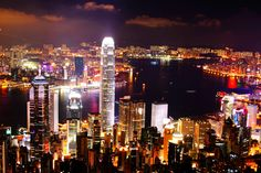 Hong Kong Night Scenery by Roby Wong on 500px