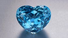 This superb 32.10-carat heart-shaped Brazilian aquamarine shows the gem's finest color, a moderately strong, medium-dark, very slightly greenish blue. - Courtesy M.Chung Gemstones and Fine Jewelry Co.