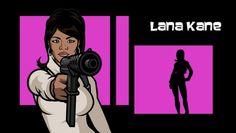 Lana Anthony Kane: Spy. Badass. Cartoon character.