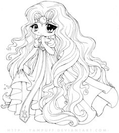 Anime Disney Princess Coloring Pages Inspirational Princess Emeraude Chibi by Yampuff On Deviantart Chibi Coloring Pages, Mermaid Coloring Pages, Pokemon Coloring Pages, Online Coloring Pages, Cute Coloring Pages, Coloring Pages For Girls, Coloring Pages To Print, Animal Coloring Pages, Printable Coloring Pages