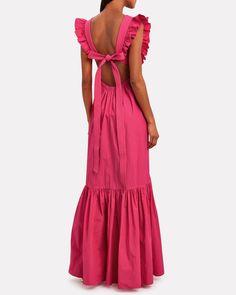Frill Dress, Poplin Dress, Apron Dress, Prom Outfits, Dress Outfits, Casual Dresses, Fashion Dresses, Formal Dresses, Frock For Women