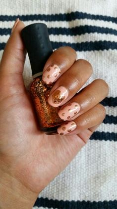 Essie A crewed interest, Revoln Copper Penny and Orly Watch it Glitter.