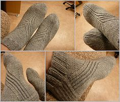 Ravelry: A Good Nights Work pattern by Bitta Mikkelborg Crochet Boots, Knit Crochet, Knitting Socks, Knit Socks, Knitting Accessories, Knitted Shawls, Yarn Colors, Good Night, Mittens