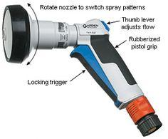 Garden Shower Spray Pistol - Lee Valley Tools