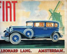 ME PIEMONT - MANIFESTI Poster Ads, Car Posters, Fiat 500 Pop, Art Deco Car, Italian Posters, Car Illustration, Car Advertising, Car Drawings, Automotive Art