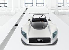 Audi R8R LMP Prototype Design Sketch (1998)