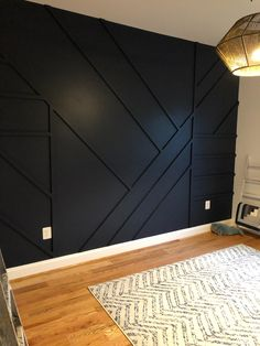 Accent Walls In Living Room, Accent Wall Bedroom, Master Bedroom, Bedroom Wall Designs, Accent Wall Designs, Bedroom Decor, Home Design Images, Lofts, Home Projects