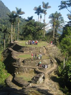 Inca Lost City Paititi founded in 800 AD Sierra Nevada, Wonderful Places, Beautiful Places, Travel Around The World, Around The Worlds, Tayrona National Park, Colombia South America, Colombia Travel, Argentine