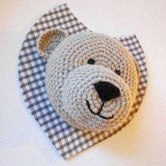 Bear head crochet pattern - Free