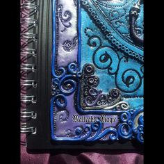 Dragon Orchid Notebook by MalleableMagic on Etsy