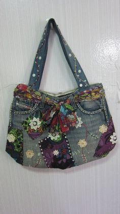 Unique Denim bag is creative inspiration for us. Get more photo about diy home decor related with by looking at photos gallery at the bottom of this page. We are want to say thanks if you like to share this post to another people via your facebook, pinterest, google plus …