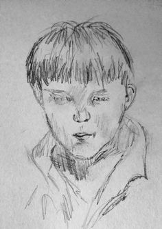 boy drawing easy drawings simple boys sketches