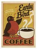Early Bird Coffee Arte por Anderson Design Group