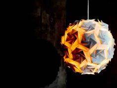 Lampen mit Knick: Origami-Leuchten