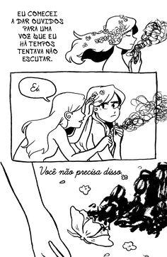 Arromantico Assexual descobrimento p.17 Ilustrações de Kotaline Jones
