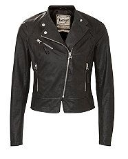 New Look Biker Jacket. I love the leather jacket, especially the biker look. Rock chick at heart.