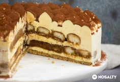 Tiramisu torta | NOSALTY Kaja, Sweets, Cookies, Ethnic Recipes, Food, Pudding, Sweet Pastries, Chocolate Cobbler, Pastries