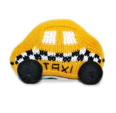 "Estella Best Top Unique Hand knitted Baby Kids Boy Girl Unisex Designer Yellow Black Taxi Toy Rattle, 4.5 x 3 x 1.75 inches by Estella. $16.00. Nice cute toy taxi; Prepares your little baby imaginatively for the future community. Designed by Estella. Measures approximately L-4.5"", H-3"", W-1.75"" inches .. Naturally hand-crafted. Made of softest cotton which feels gentle on the baby's skin. Has a gentle rattle inside to keep baby busy. Nice Unique And Imaginative TouchSince the ..."