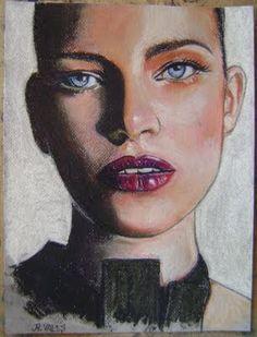 Pinturas e debuxos: Make up (serie ELAS).