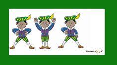 vier zwarte pieten Illustration Noel, Saints, December, Family Guy, Youtube, School, Fictional Characters, Baby, Carnival