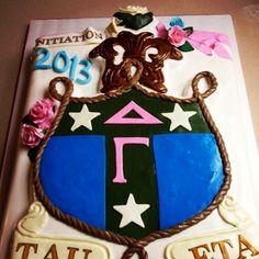 Amazing cake for Initiation!