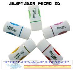 LECTOR  TARJETAS MEMORIAS MICROSD DE 2 4 8 16 32 GB 4GB 8GB 16GB USB PENDRIVER,,