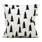 Fine Little Day Gran Cushion in Black And White Fir Tree | Scout & Co