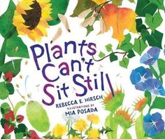 Plants Can't Sit Still by Rebecca E. Hirsch & Mia Posada - Have you ever seen a plant move on its own? Plants might not walk, but they definitely don't sit still! Discover the many ways plants (and their seeds) move in this fascinating picture book. Children's Book Awards, Plant Information, Preschool Books, Preschool Classroom, Kindergarten, Parts Of A Plant, Buy Plants, Mentor Texts, Book Show