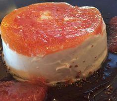 Grapefruit Cashew Cheesecake