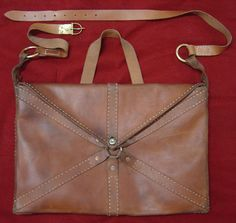 LOCULUS:  Goatskin satchel used by Legionaries to store Impedimenta. These were made from 1 goat hide.