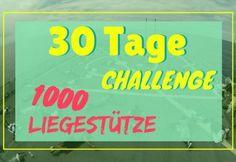 30-Tage Liegestütze Challenge: Halte dich fit mit diesem genialen Trainingsplan