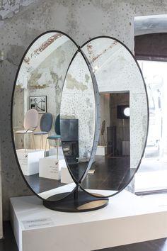 Olympia Freestanding Mirror - Sé at Spazio Rossana Orlandi, Milan 2015 - www.se-london.com