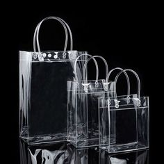 Plastic Gift Bags, Plastic Pouch, Bag Packaging, Jewelry Packaging, Paper Packaging, Plastic Recycling, Cheap Gift Bags, Clear Handbags, Clear Tote Bags