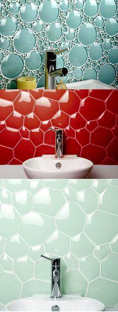 Really cool Glass tiles