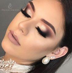 Amazing Wedding Makeup Tips – Makeup Design Ideas Wedding Makeup Tips, Bride Makeup, Wedding Hair And Makeup, Glam Makeup, Hair Makeup, Smokey Eye Makeup, Eyeshadow Makeup, Eyeliner, Highlighter Makeup