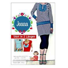 Joana, Kreativ-Ebook - farbenmix Online-Shop - Schnittmuster, Anleitungen zum Nähen