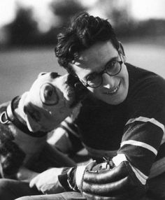 """Harold Lloyd and Pete The Pup (from Our Gang) in """"The Freshman"""" (1925)"""