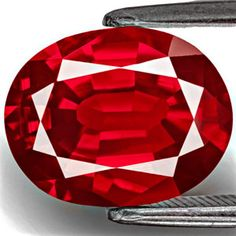 4.13-Carat Collector-Grade Unheated Vivid Pigeon Blood Red Ruby