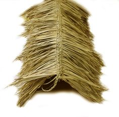 Our newly designed Mexican Palm Thatch Ridge Cap Roll is an ideal product to finish off any tiki hut project. The thatch used is commercial grade, hand woven, and 60 inches in width by 12 feet in length. Accent and cover roof ridge lines beautifully with Forever Bamboo's high quality ridge cap roll to achieve an island inspired look. Mexican Palm thatch will last between 3 to 5 years. Each piece of thatch is hand woven and connected by a sturdy nylon string.