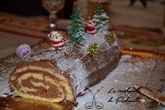 Buche de Noel au nutella ou pâte à tartiner maison.