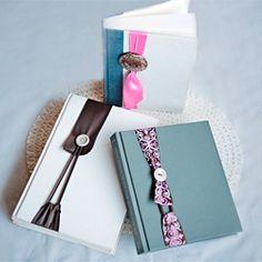 DIY Project - Nifty Ribbon & Button No Slip Bookmark