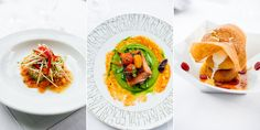 Chef Wolfgang Puck and Chef Alain Ducasse at Hotel Bel-Air, photos from White On Rice Couple.
