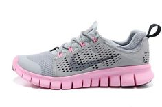 official photos c3127 fcba0 New Arrive Nike Free Third 3rd III Women Gray Pink Running Shoes Outlet, Nike  Free 3, Pink Running Shoes, Free Running Shoes, Nike