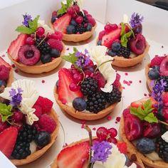 Lucie Bennett on Twitter - Almond milk tarts